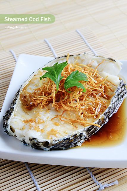 Steamed cod fish in soy sauce recipes i want to try for Sauce for cod fish