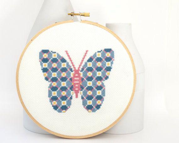 Butterfly Cross Stitch Design