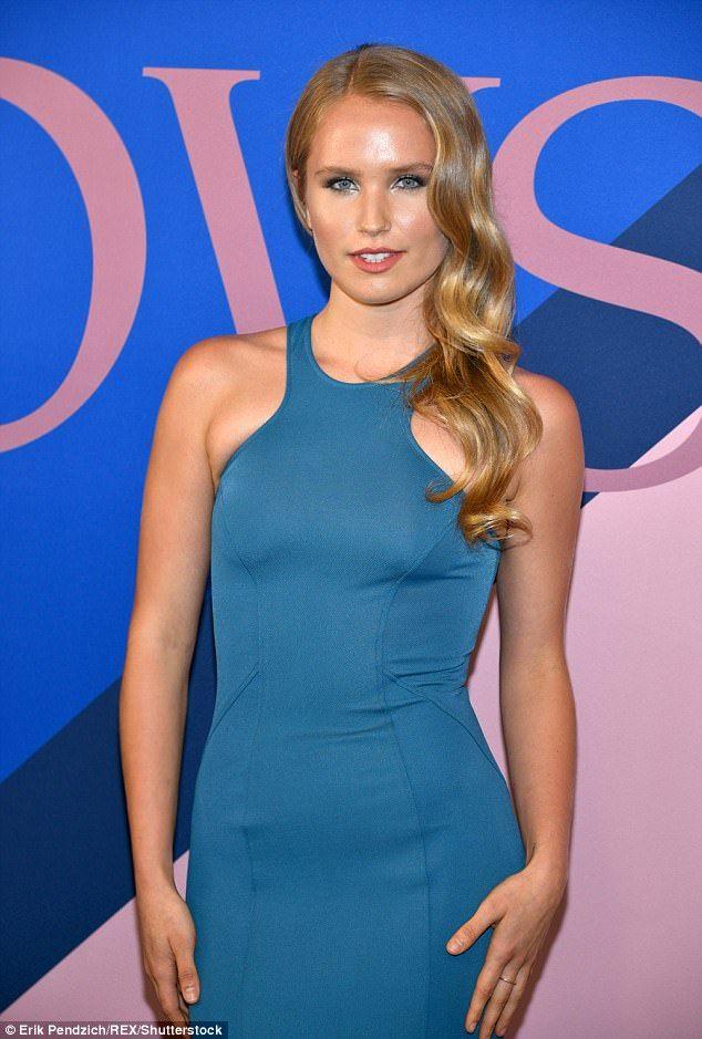 Christie Brinkley's daughter Sailor Cook CFDA Awards #dailymail