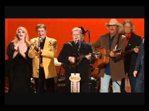 Alan Jackson,Vince Gill, Alison Krauss, Trace Adkins, Bill Anderson, Trisha Yearwood, Martina McBride, Brad Paisley,  Ricky Scaggs, Charlie Pride, Little Jimmy Dickens and More- I'll fly away.....I saw the light....Will the circle be unbroken (Live)
