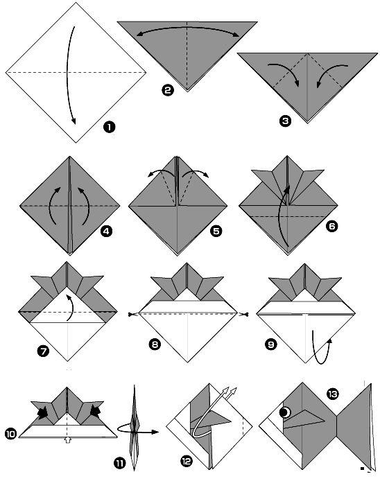 origamis de animais marinhos - Pesquisa do Google
