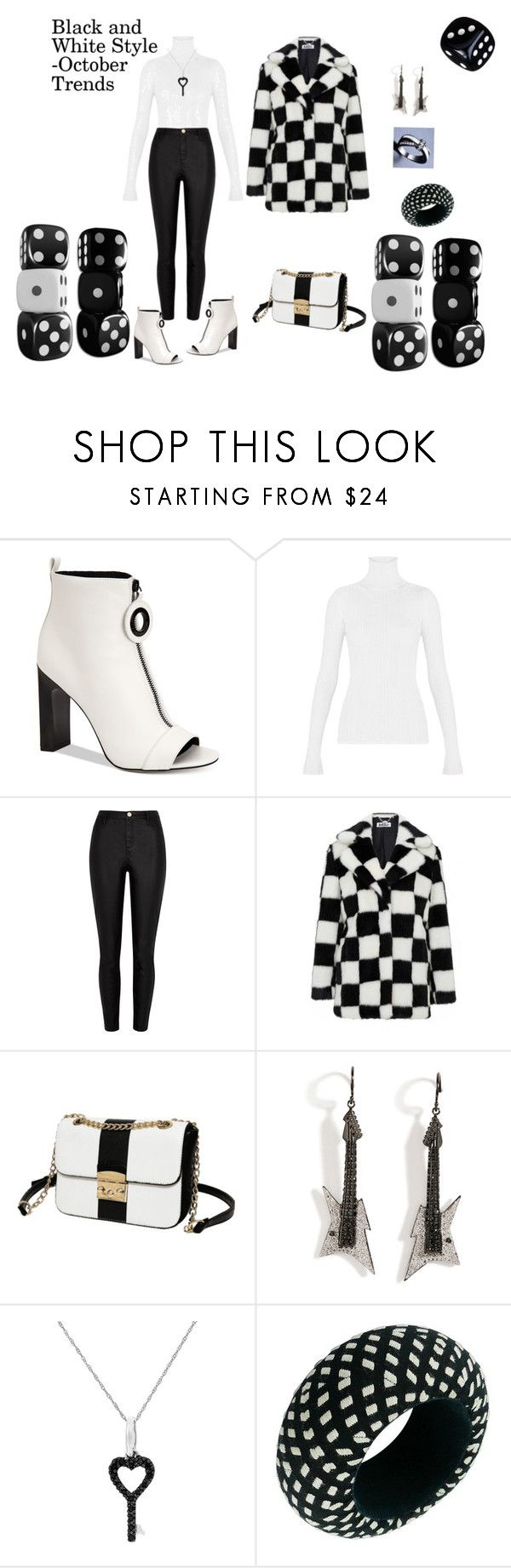 """""""October Trends"""" by rebeccadavisblogger ❤ liked on Polyvore featuring Calvin Klein, River Island, Jakke, Lynn Ban, Suzy Levian and Christian Lacroix"""