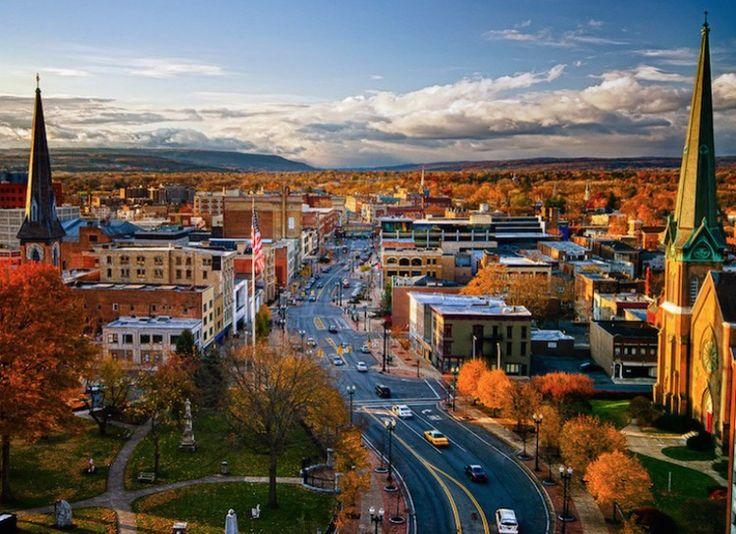 Schenectady, New York. My grandma Kessling's city.