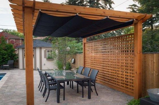 Retractable Pergola Shade