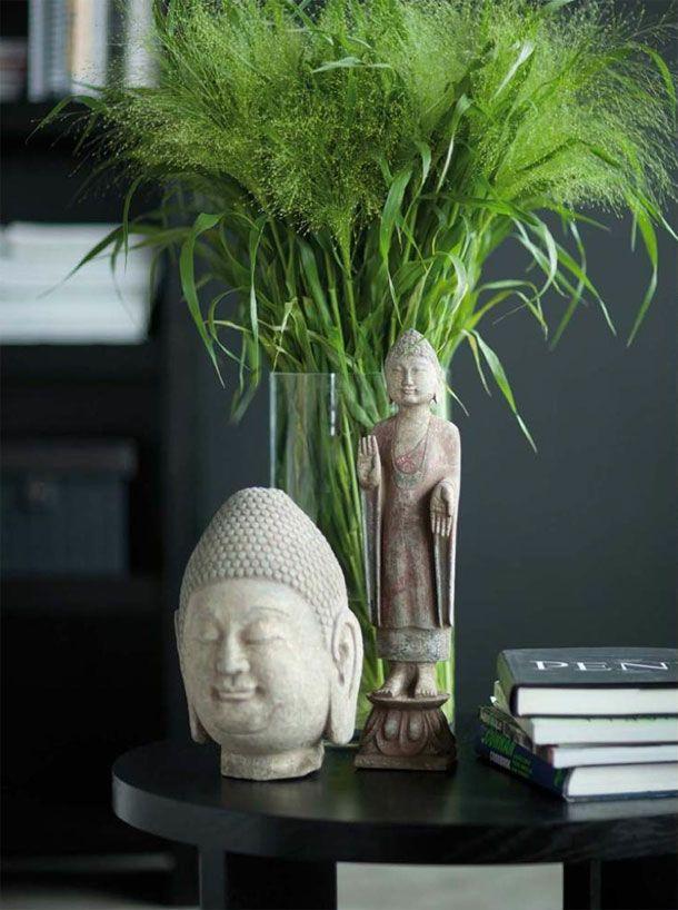 greenery in vase, Slettvoll #ethnic #black