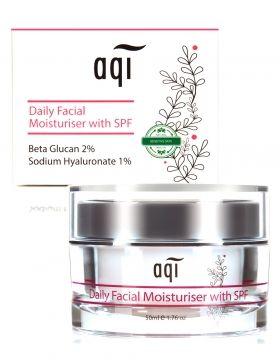 Gentle Daily Facial Moisturiser with SPF  #naturalskincare #healthyskin #skincareproducts #Australianskincare #AqiskinCare #aqihk