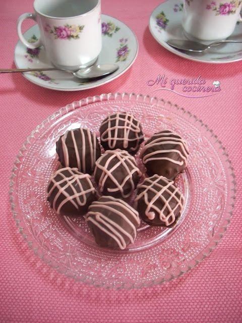 Bolitas de galleta y leche condensada ~ Mi querida cocinera