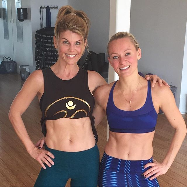 You Go, Girl!: Lori Loughlin, 51, Shows Off Her Amazing Abs in a Cute Workout Snapshot — See the Pic!