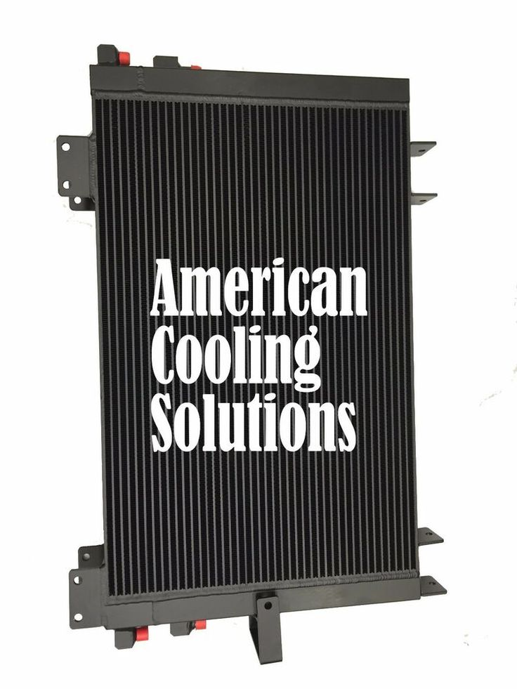 Ebay Sponsored Bar And Plate Design Dual Oil Cooler For 84349665