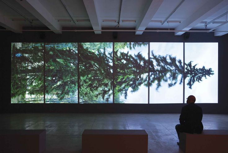 Horizontal, 2011, 6 min. 6-channel projected installation.
