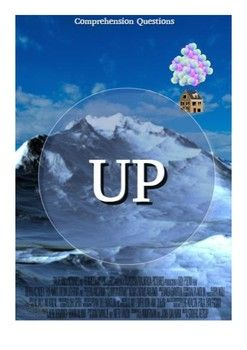 """This movie guide accompanies the movie """"Up"""" This has 20 questions in chronological order mixed between long answers and multiple choice. At the end of the worksheet there are 2 additional written questions that need to be answered with a paragraph."""