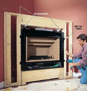135 best Fireplace mantels images on Pinterest | Fireplace ideas ...