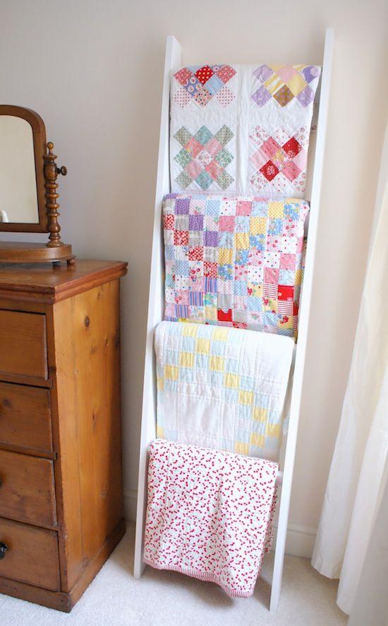 164 Best Quilt Ladders Images On Pinterest Bathroom