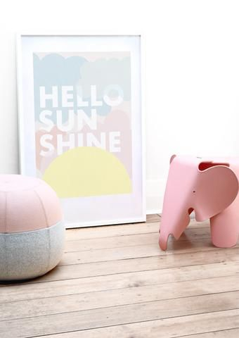 Friday & Today - Hello Sunshine print (50 x 70cm)