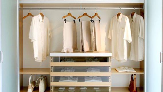 Convertir un garde-robe  - Blogue d'Émilie Cerretti - Canal Vie