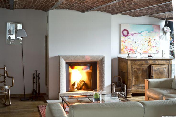 chemin e d corative classique en massangis chemin es design stone pinterest search. Black Bedroom Furniture Sets. Home Design Ideas