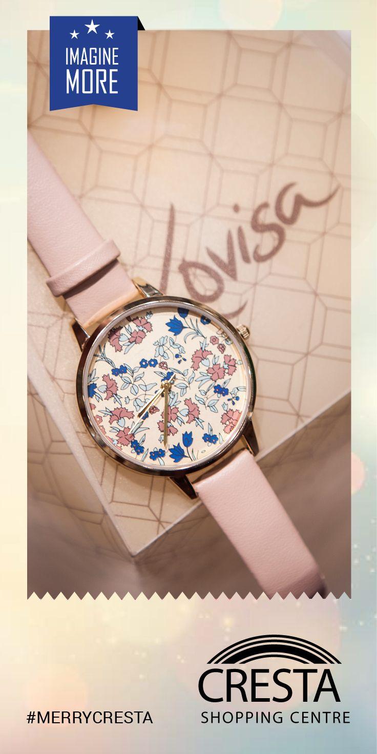 Floral Face Strap Watch from Lovisa Cresta Centre @ R175.00 #MerryCresta #Watch #Floral
