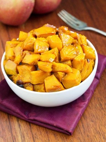 An easy, sweet roasted kabocha squash recipe, complete with a delicious apple cider glaze. The perfect Winter side dish! Click for the recipes!