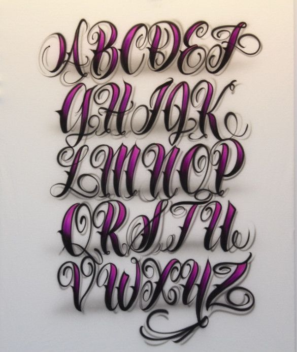 Graffiti Alphabet : Sketch 3D Graffiti Alphabet Letter Font A To Z ...