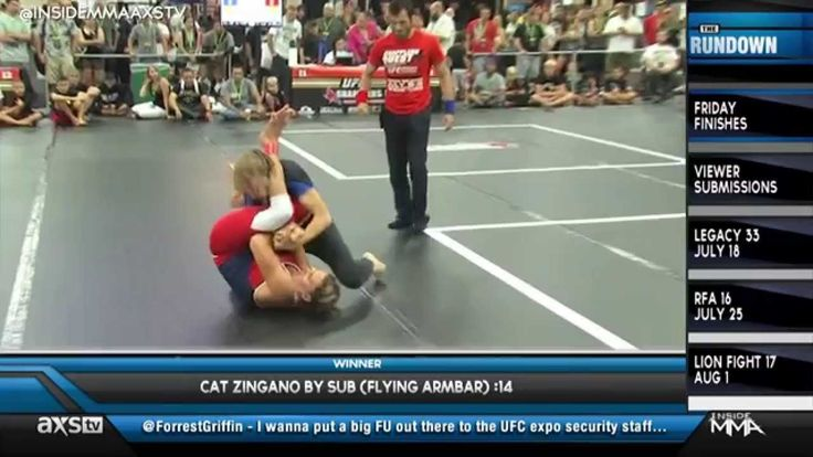 "Cat Zingano's Flying Armbar & All the KO's You Could Ask For in ""Friday Finishes"""