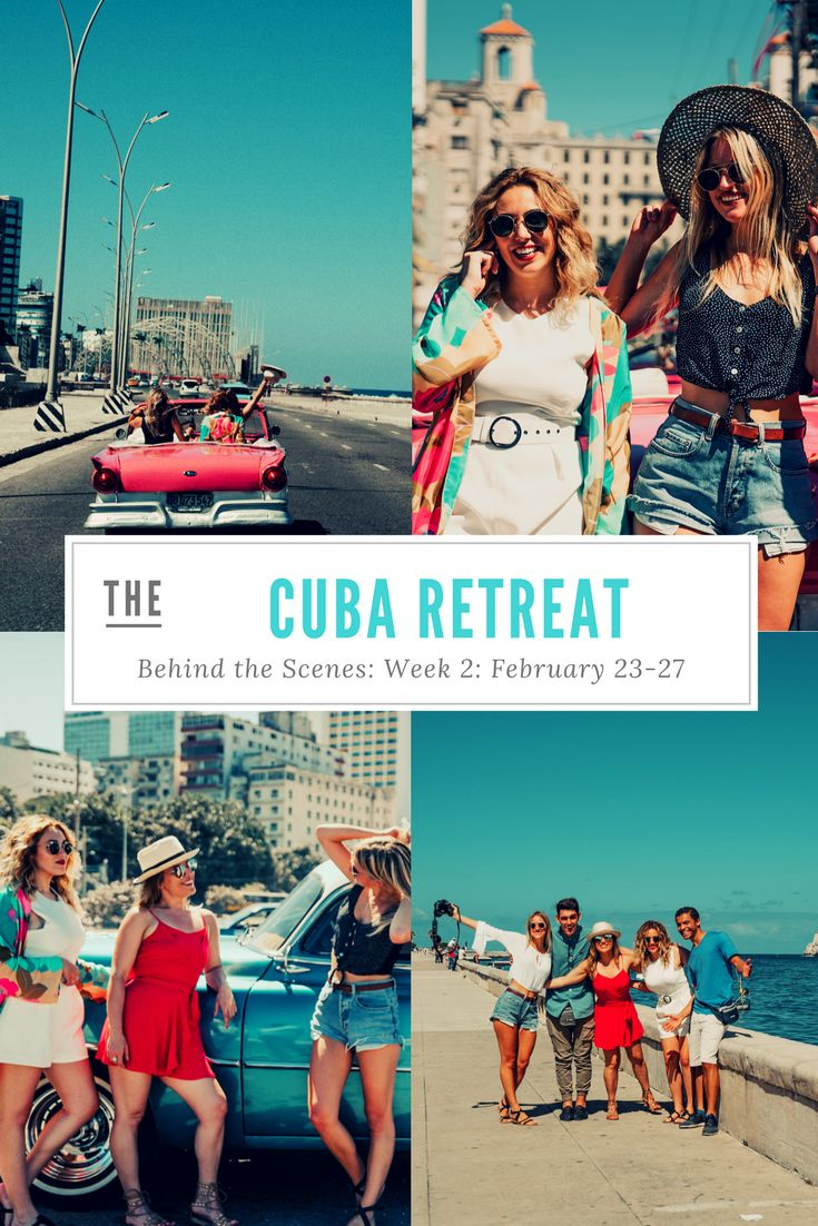 Our Week 2 Cuba Retreat with Bloggers + Influencers
