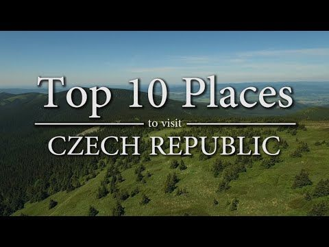 Top 10 Places to Visit in Czech Republic - YouTube