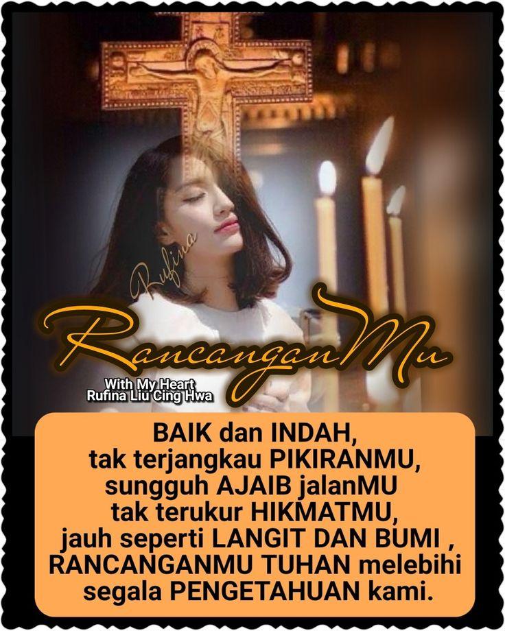 ✿*´¨)*With My Heart  ¸.•*¸.• ✿´¨).• ✿¨) (¸.•´*(¸.•´*(.✿ GOOD NIGHT....GBU ~  Yesaya 55:8-9 (TB)  Sebab rancangan-Ku bukanlah rancanganmu, dan jalanmu bukanlah jalan-Ku, demikianlah firman TUHAN.  Seperti tingginya langit dari bumi, demikianlah tingginya jalan-Ku dari jalanmu dan rancangan-Ku dari rancanganmu.