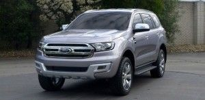 2016 Ford Everest - front