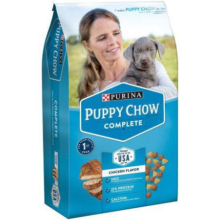 Purina Puppy Chow Complete Puppy Food 4.4 lb. Bag, Multicolor