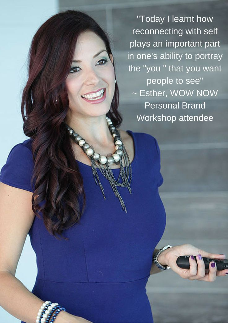 What beautiful feedback on WOW NOW Personal Brand Workshop