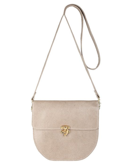 Shop now: Taupe Minnie Classic Cross Body Handbag