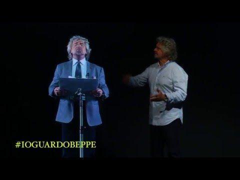 """""""Felice Anno Nuovo"""" al presidente Mattarella e Beppe Grillo, i discorsi di fine anno (YouTube)"""