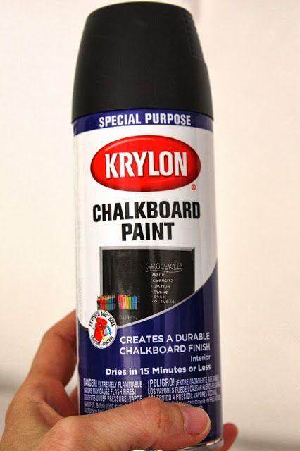 simply organized: DIY: wooden chalkboard labels