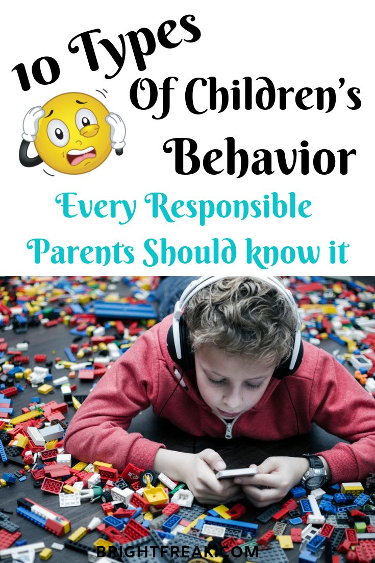 10 Types of Child Behavior Problems and Solutions | Child ...