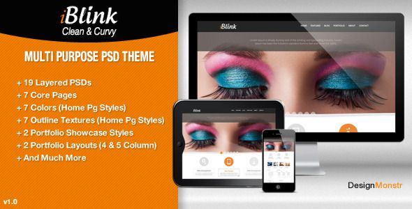 See More iBlink - Multi Purpose PSD TemplateWe provide you all shopping site and all informations in our go to store link. You will see low prices on