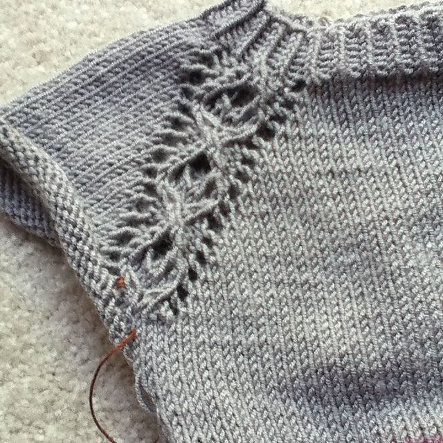 Ravelry: Project Gallery for Rondeur pattern by Mercedes  Tarasovich-Clark - free top down.  I would add sleeves to it!