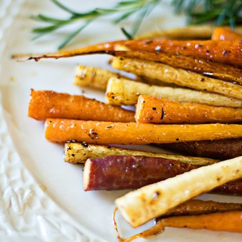 Eat to Beat: Sauteed Carrots and Parsnips with Honey and Rosemary