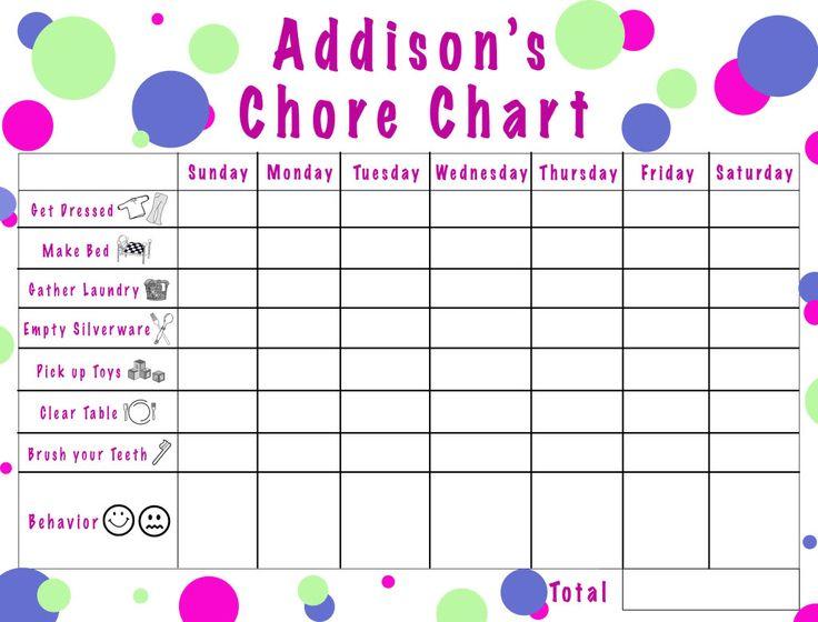 New Chore Chart For The Little Guy Good Idea Raising