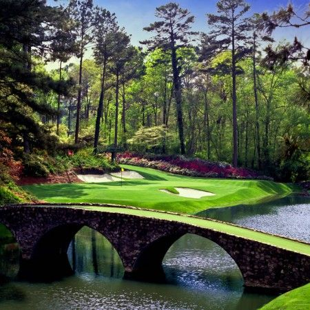 Hole Number 12 Augusta National Golf Club. Maybe one day I will have the pleasure of playing this imfamous course.