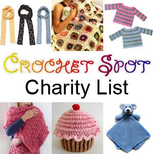 List of Charities to donate crochet/knitting to