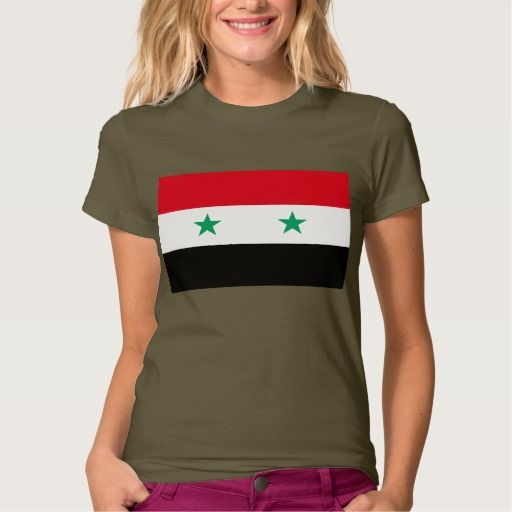 Flag of Syria Tees