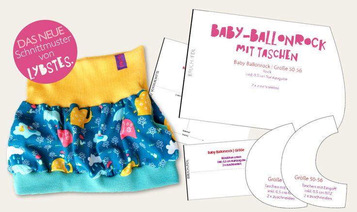 Lybstes. Ballonrock Bubbleskirt Freebook