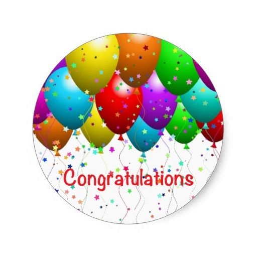 $$$ This is great for          Congratulations Balloons Round Sticker           Congratulations Balloons Round Sticker online after you search a lot for where to buyDiscount Deals          Congratulations Balloons Round Sticker lowest price Fast Shipping and save your money Now!!...Cleck Hot Deals >>> http://www.zazzle.com/congratulations_balloons_round_sticker-217669237553336605?rf=238627982471231924&zbar=1&tc=terrest