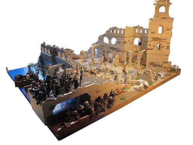 The Siege of Osgiliath by ∆TMM∆, via Flickr