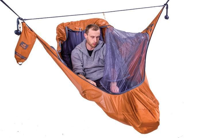 Amok Draumr 3.0 - hammock tent with bug net and suspension kit - Amok Equipment US Inc