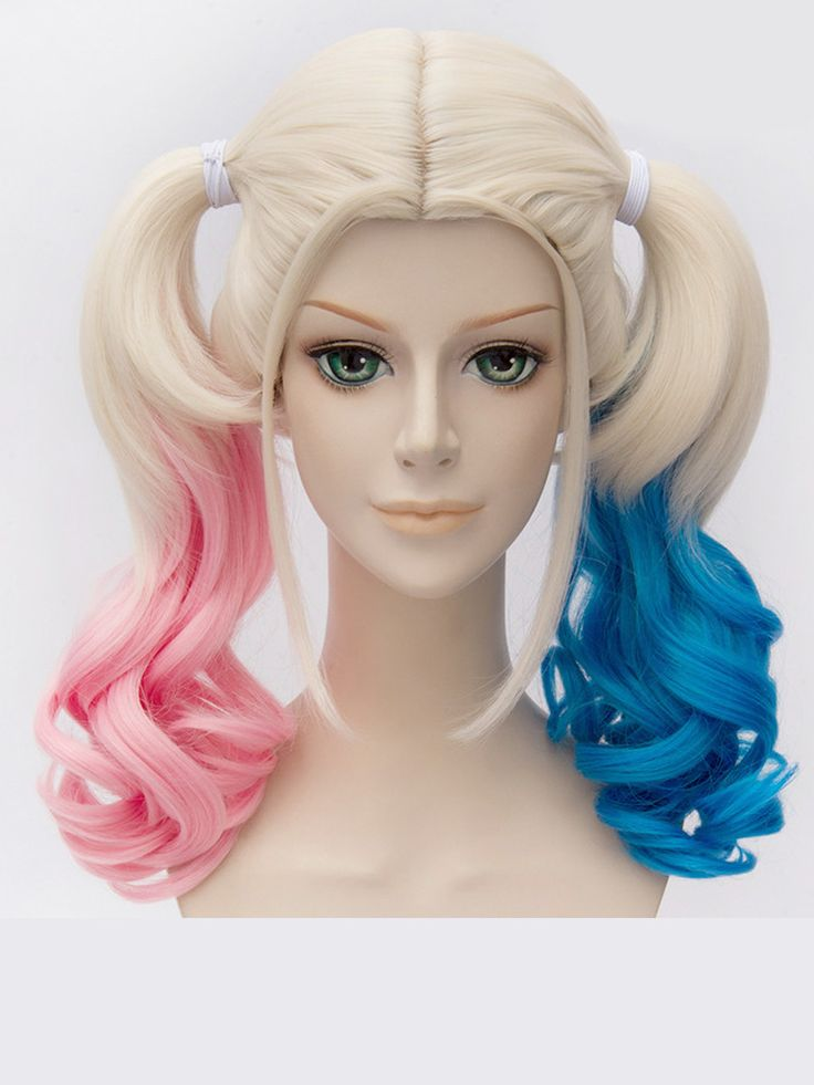 grade 04 b harley quinn blond wig - Halloween Costumes With Blonde Wig
