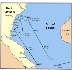 Gulf of Tonkin Incidents • 2 & 4 August 1964 http://en.wikipedia.org/wiki/Gulf_of_Tonkin_incident
