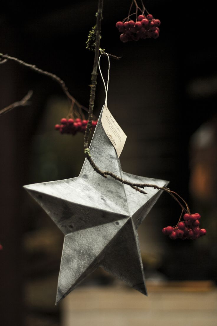 Kohotähti / 3-dimensional paper star