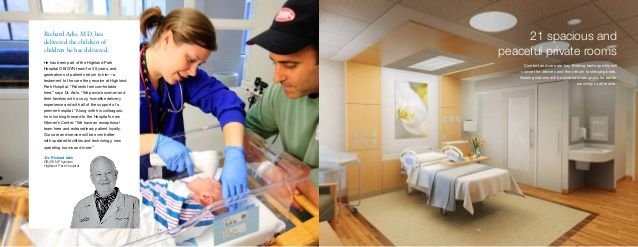 Architect, Kelly Alter's, design for the Labor Delivery