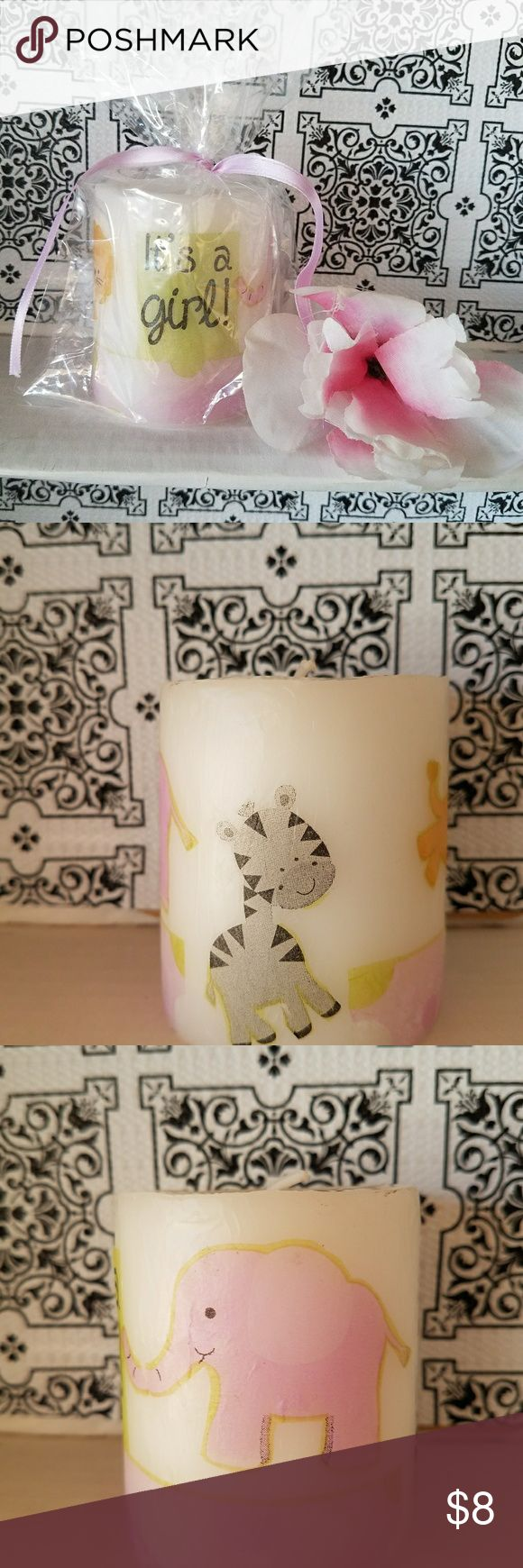 """New Specialty Candle New """"It's A Girl"""" 8 ounce Candle.  Perfect for a baby shower, to give as a gift, or simply keep for yourself. Suggested retail price is 12.99. Selling for 8. No lowballers, only serious buyers.  No holds, FCFS. J Street and Owens area 89106. Shipping available. Other"""
